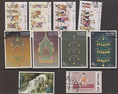(OF-19) 1970-90 Thailand mix of 21 stamps (B)