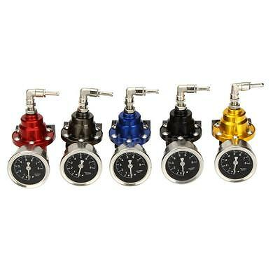 200-800KPa Adjustable Fuel Pressure Regulator with Oil Gauge For Turbo Car ZZ8Y