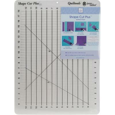June Tailor – Shape Cut Plus Ruler for Quilting, Fabric Cutter Template Sewing