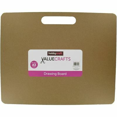 Hobbycraft Valuecrafts A3 Drawing Board Rectangle Painting Art Craft Supplies