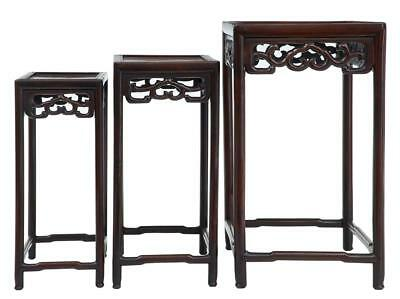 Late 19Th Century Chinese Nest Of 3 Tables