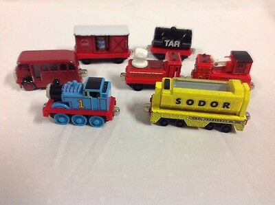 Lot of 7 Thomas & Friends Learning Curve Metal Trains Coal Transport