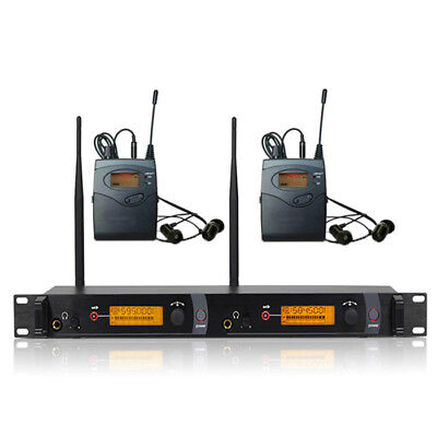 SR 2050 2 Channel UHF Wireless In Ear Stage Monitor System stage performance