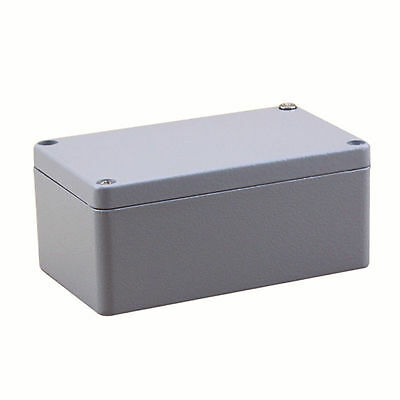 IP66 Aluminium Junction Box Project Electronic Waterproof Enclosure 120*80*55mm