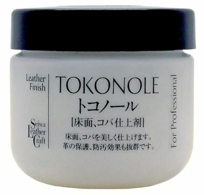 Seiwa Tokonole Leathercraft Tragacanth, Leather Burnishing Gum 120ml, Clear