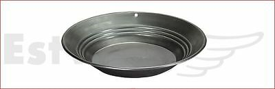 "Estwing Steel Gold Pan 305 mm 12"" 336 gram 12 oz Geological Prospecting Sifting"