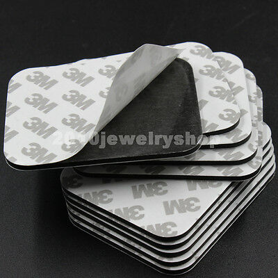 10x Black 3M 9080 EVA Foam Double Side Adhesive Tape Pad Mounting Tape 78x60x3mm