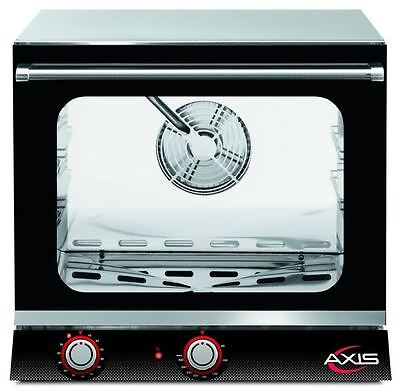 Axis AX-513h Commercial 1/2 Half-Size Electric Convection Oven (HUMIDITY) NEW!