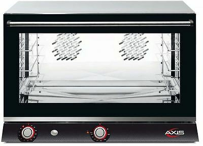 Axis AX-824H Commercial Full-Size Electric Convection Oven (4-Shelf, Humidity)