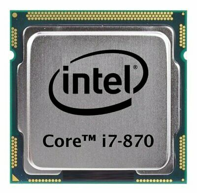 Intel Core i7-870 (4x 2.93GHz) SLBJG CPU Sockel 1156   #30089