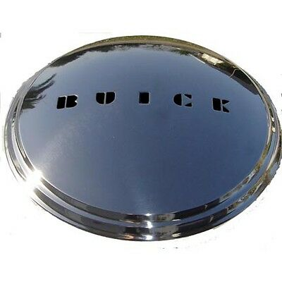 BUICK NEW HUB CAPS FOR 1941 to 1950 POLISHED STAINLESS + Our Parts Catalog