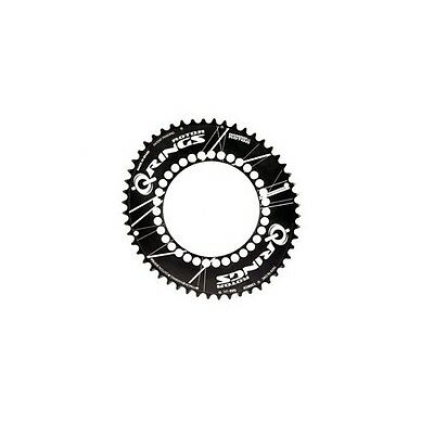 CORONA OVALE QRINGS ROTOR BCD 130X5 52D colore NERO
