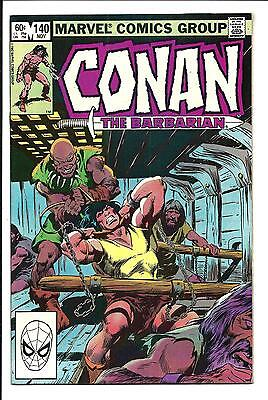 Conan The Barbarian # 140 (Nov 1982), Nm