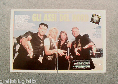 Ritaglio / Clipping - ACE OF BASE ,ALL THAT SHE WANTS,NOTIZIE AGO'93 #6589