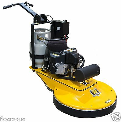 "27"" Genie Presto Propane High Speed Burnisher Buffer Floor Maintenance"