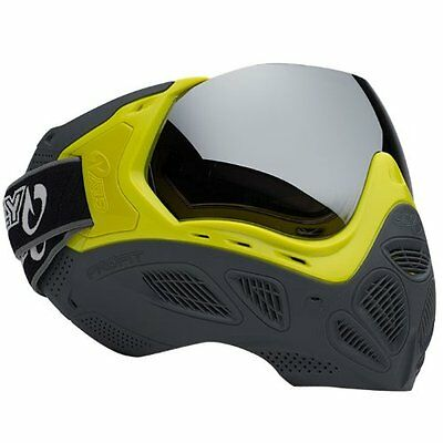 Sly Profit Paintball Masks - Limited Edition Highlighter/Grey