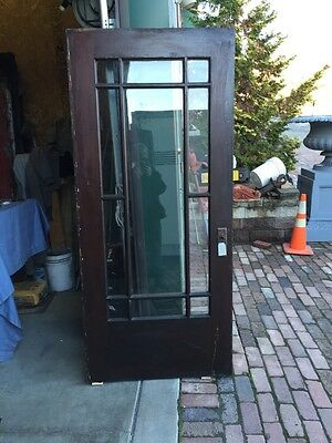 Ar 12 Antique Pine Arts And Crafts Entrance Door 36 Inch
