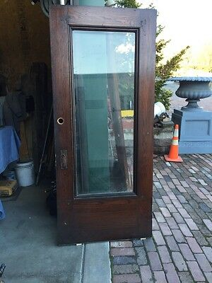 A R 13 Full View Beveled Glass Park Avenue Front Door 36 Inch