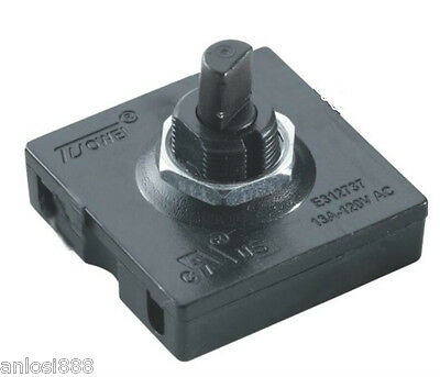 TUOWEI Rotary Switch 4 Position 3 Speed Selector With Knob