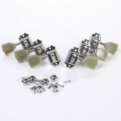 3R+3L Set Deluxe Guitar Tuning Pegs Keys Machine Heads Tuners For Gibson Style