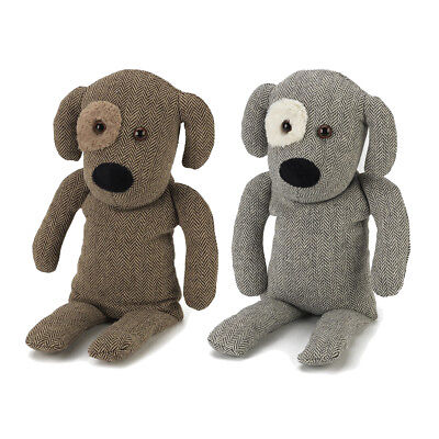 Warmies Cozy Dogs Herringbone Plush Heatable Microwaveable Soft Animal Toy Warm