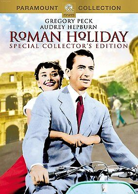 Roman Holiday Special Collector's Edition - DVD - Gregory Peck Audrey Hepburn