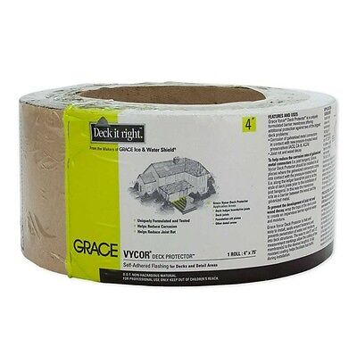 Grace Vycor Deck Protector - 4 x 75' Roll - 45639
