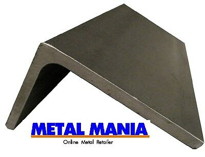 Steel unequal angle 40mm x 25mm x 4mm x 3mtr