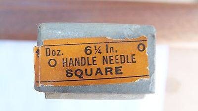 NOS Nicholson file round handle needle square 6 1/4 inch cut 0