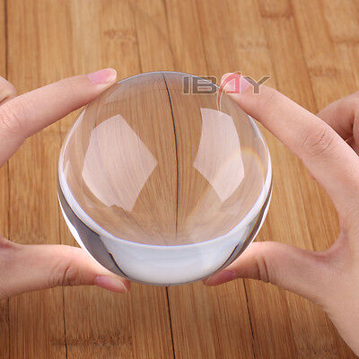 90mm Contact Ball - 100% Crystal Clear Acrylic Ball - Manipulation Juggling New