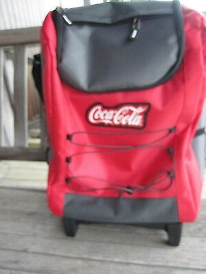 Coca Cola Custom Rolling Insulated Cooler - New