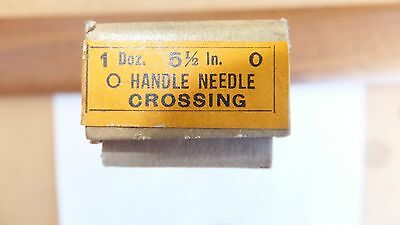 NOS Nicholson file round handle needle crossing 5 1/2 inch 0 cut