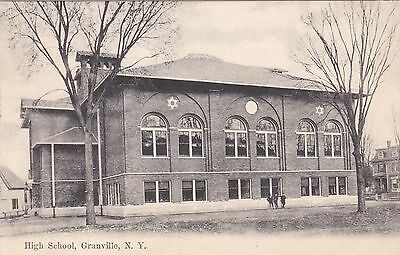 New York Granville The High School 1909 sk329