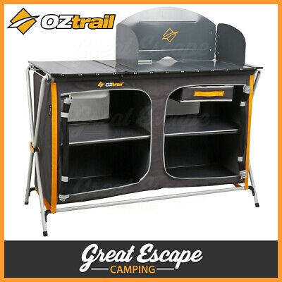 OZtrail Camp Kitchen Deluxe with Sink