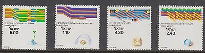 (JY12) 1979 Israel set 4 technological achievements MUH