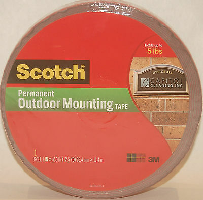 3m scotch outdoor mounting tape 4011 long double sided permanent
