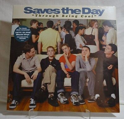 SAVES THE DAY - Through Being Cool, LIMITED 180 Gram Black Vinyl Remastered NEW!