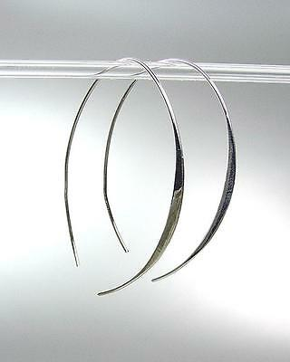 CHIC MODERN GOLD Metal Thin Wire THREADER Dangle Earrings 78072