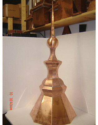 Roof (Cupola) Copper  Turret  Finial Octagon 8-S