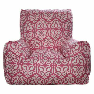 NEW Lelbys Damask Kids Bean Chair Cover in Multi-Coloured
