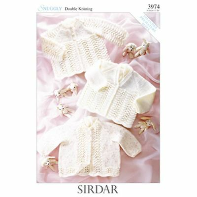 Sirdar Easy Knit Snuggly Cardies Double Knit Patterns 3974 Leaflet Needlecraft