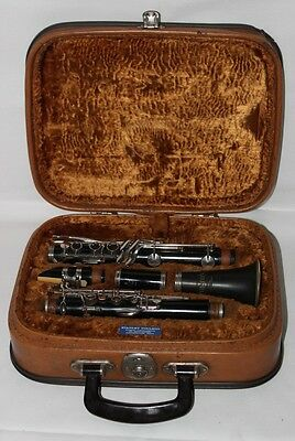 Vintage B & H Boosey & Hawkes London CLARINET with Case - FREE Postage [PL1813]