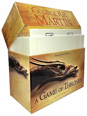 George R. R. Martin A Game of Thrones A Song of Ice and Fire, Book 1 Audio CD