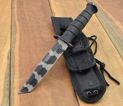 Smith & Wesson Search & Rescue Marine Combat Knife Survival Tactical CKSURTC