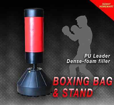 Home GYM Free Standing Boxing Punching Kicking Bag Fitness Practice Exercise