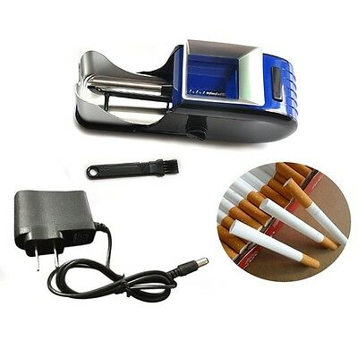 new Automatic Electric Cigarette Rolling Machine Tobacco Injector Maker US Plug