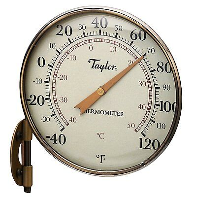 Taylor 481BZ Metal Dial Thermometer, 4.25""