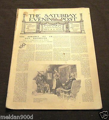 Antique THE SATURDAY EVENING POST Magazine Dec 3 1898   Issue * SHIPS FREE W/BIN