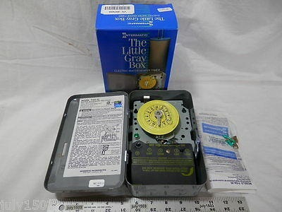 Intermatic T104-20 Mechanical Timer 208/240 volt DPST WaterHeater Pool Free Ship