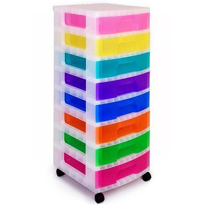 Really Useful Tower Craft Sewing Drawer Unit Storage Organiser Box 8 x 9 L